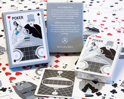 Mercedes Benz Auto & Mode Poker von Artwork Marketing